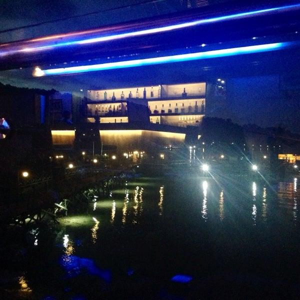 Photo taken at Gayana Eco Resort by Na H. on 4/30/2014