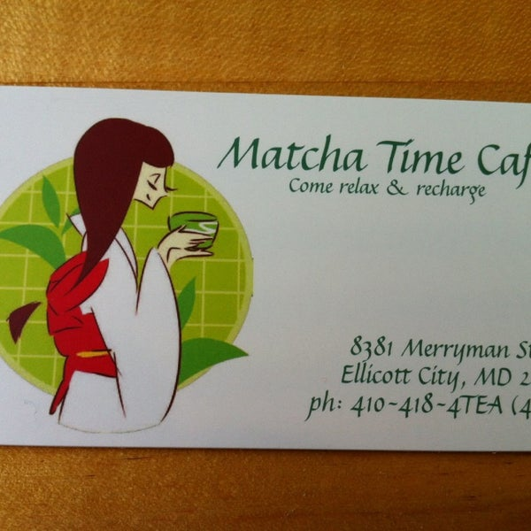 Photo taken at Matcha Time Cafe by Rob on 7/8/2013