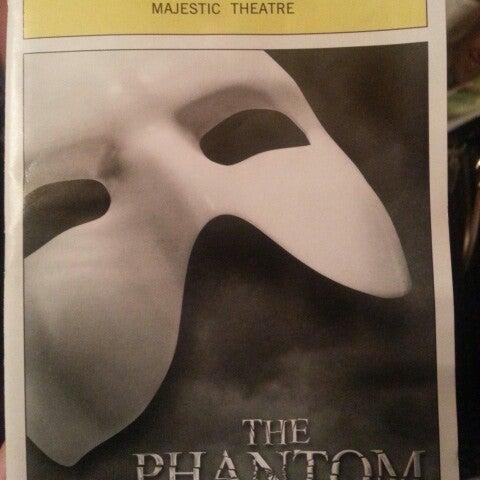Foto tirada no(a) Majestic Theatre por Rosemary D. em 9/29/2012
