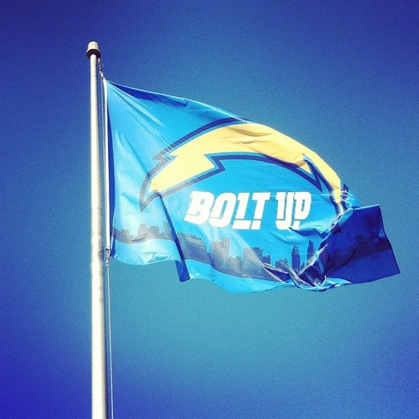 Photo taken at Qualcomm Stadium by Chargers M. on 10/15/2012