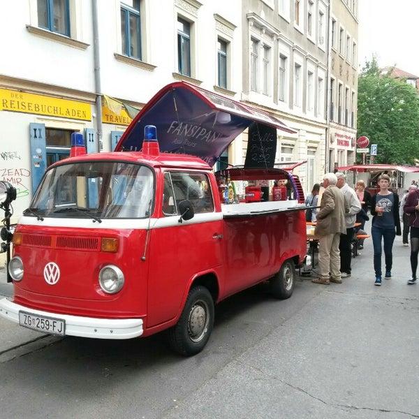 Photo taken at BRN - Bunte Republik Neustadt by oli s. on 6/13/2014