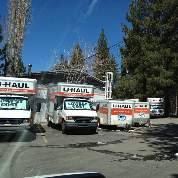 Photo Taken At U Haul Moving U0026amp; Storage Of South Lake Tahoe By Lynn