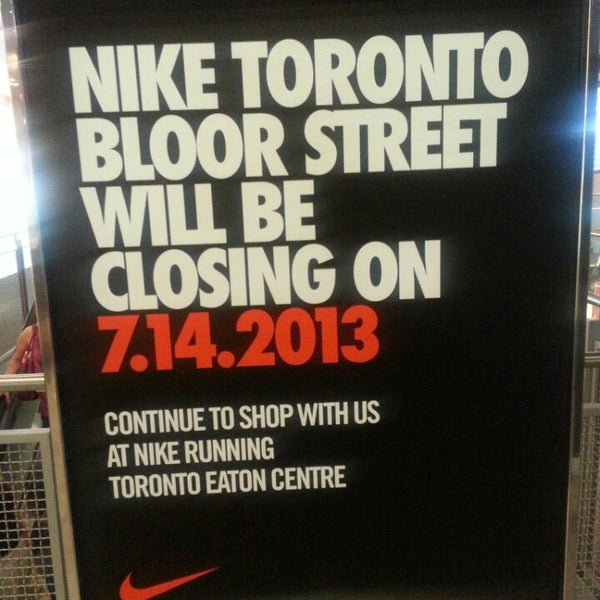 Photo taken at Nike Store Toronto by Kate I. on 7/6/2013