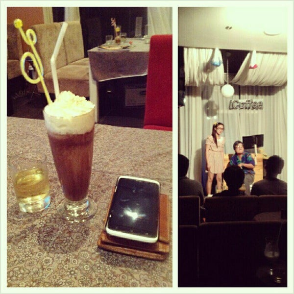 Photo taken at iCoffee by Broken S. on 12/14/2012