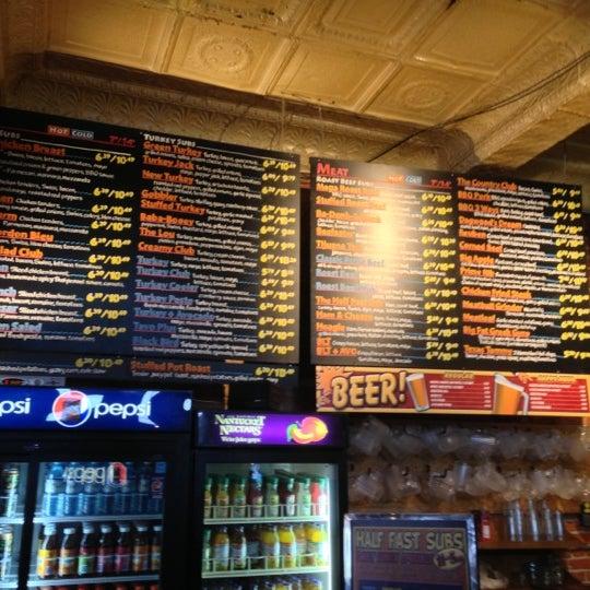 Photo taken at Half Fast Subs by Carito-Carolina J. on 11/21/2012