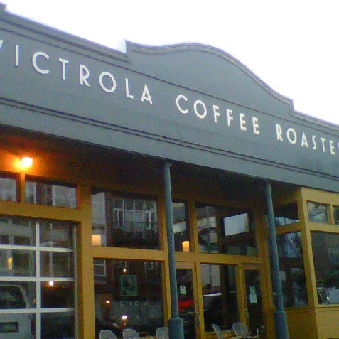 Photo taken at Victrola Cafe and Roastery by Elisa L. on 11/21/2012
