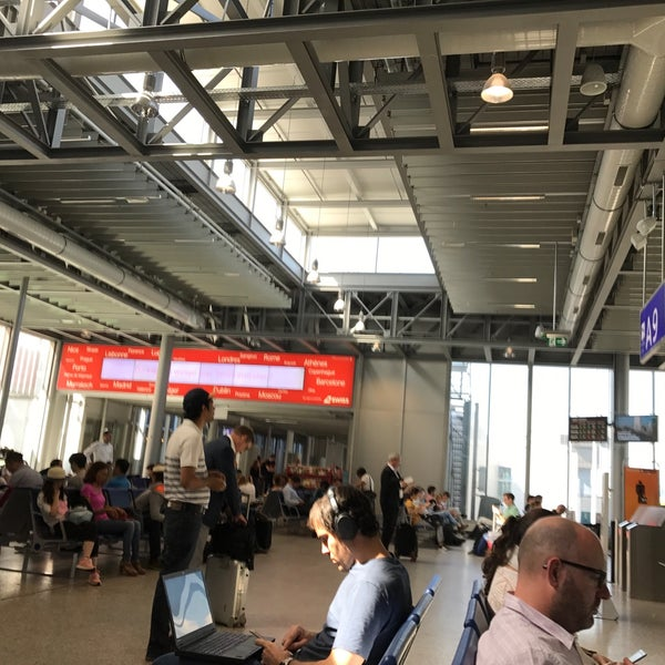 Photo taken at Gate A9 by Carina S. on 6/16/2017