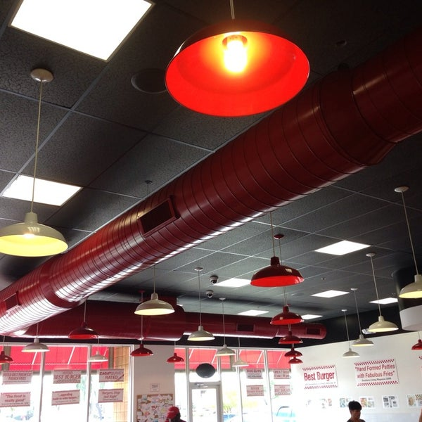 Photo taken at Five Guys by Jamez P. on 2/28/2014