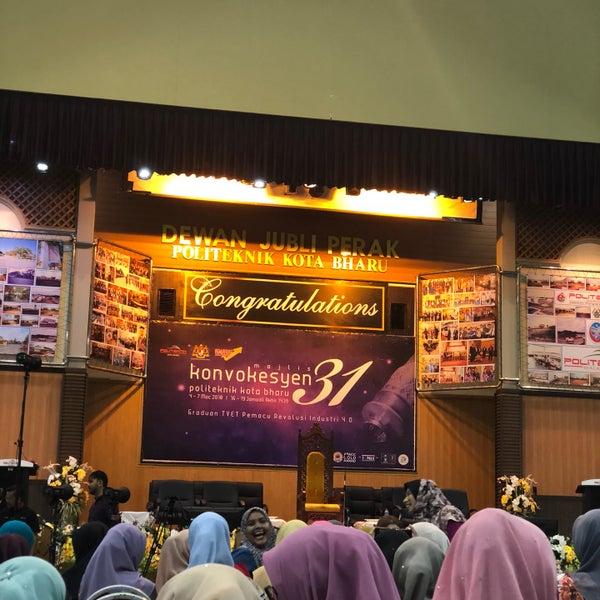 3/3/2018에 Awish Z.님이 Politeknik Kota Bharu (PKB)에서 찍은 사진