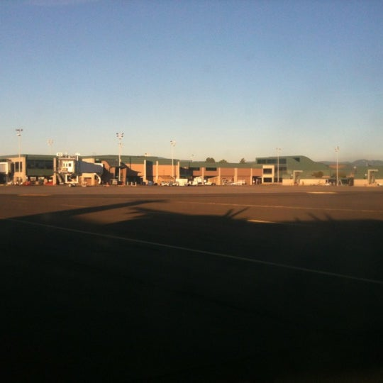 Photo taken at Eugene Airport (EUG) by Edward M. O. on 10/1/2012