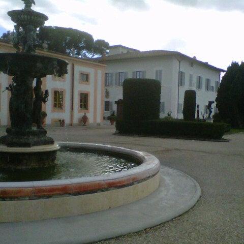 Photo taken at Villa Olmi Firenze by Michele B. on 12/1/2012