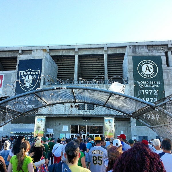 Photo taken at O.co Coliseum by kelvin d. on 6/29/2013