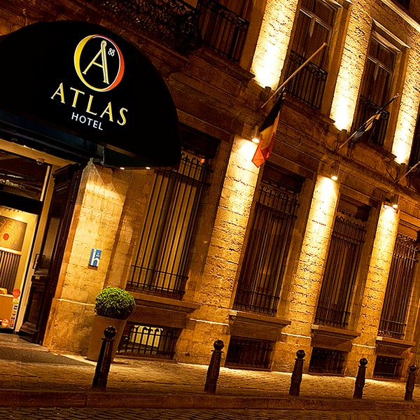 Photo taken at Atlas Hotel Brussels by Atlas Hotel Brussels on 4/30/2015