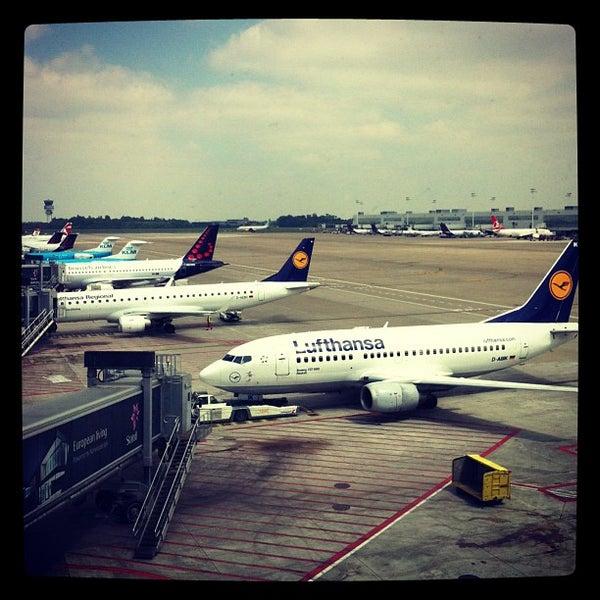 Снимок сделан в Брюссельский аэропорт (BRU) пользователем CoolBurning 6/10/2013