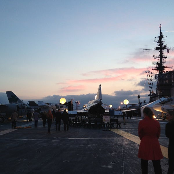Photo taken at USS Midway Museum by Kelly C. on 5/10/2013