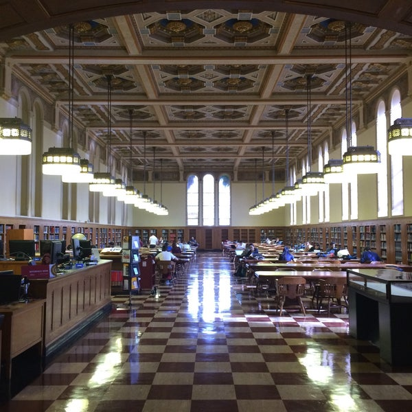 Photo taken at Doheny Memorial Library (DML) by Adil Cem A. on 3/4/2016
