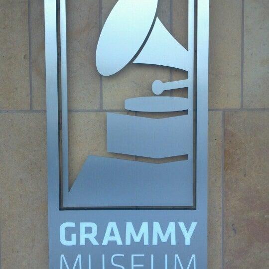 Photo taken at The GRAMMY Museum by Jennifer J. on 5/10/2013