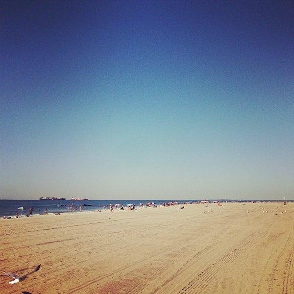 Coney Island Beach: Beach In Coney Island