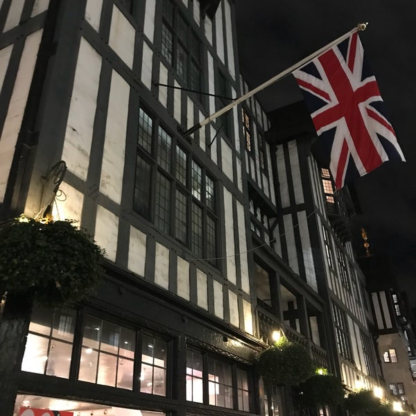 Photo taken at Liberty of London by Jacques on 1/18/2018