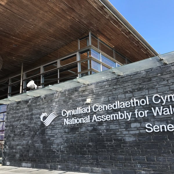 Photo taken at The National Assembly for Wales by Jacques on 7/8/2017