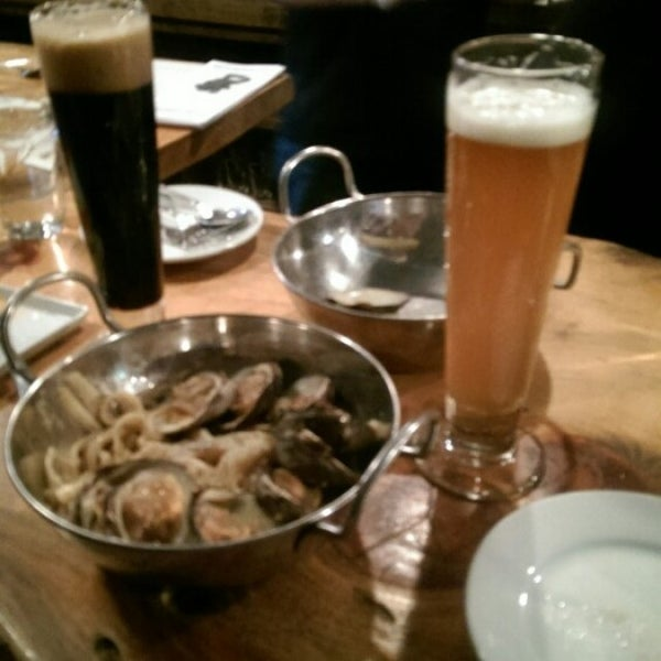 Photo taken at Upstate Craft Beer and Oyster Bar by Will C. on 3/13/2015