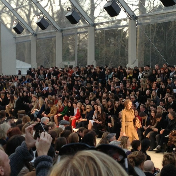 Photo taken at Burberry by Laurie O. on 2/18/2013
