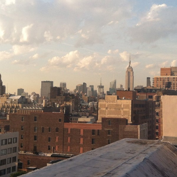 Photo taken at Meetup HQ Roof Deck by Erin S. on 5/16/2013