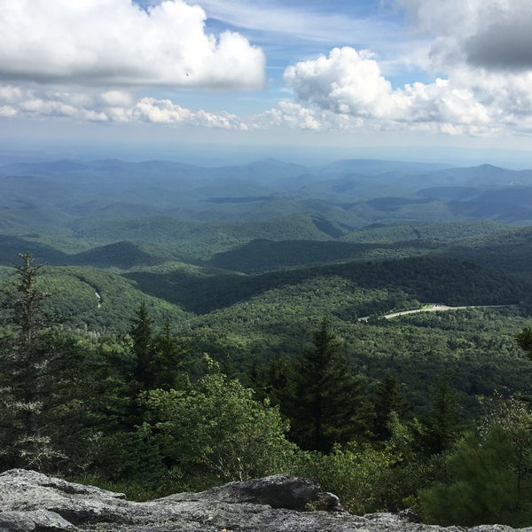 Photo taken at Grandfather Mountain by Samantha G. on 8/23/2016