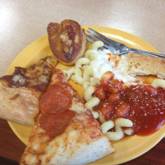 Photo taken at Cicis by Eric A. on 12/9/2012
