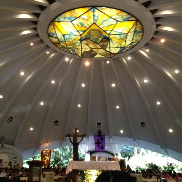 Photo taken at Sto. Niño de Paz Community Chapel by Alex P. on 2/24/2013
