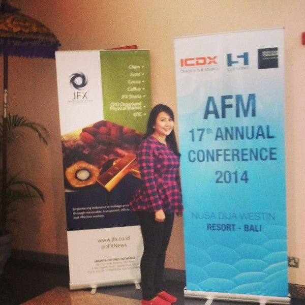 Photo taken at Bali International Convention Centre (BICC) by Ratna D. on 2/25/2014