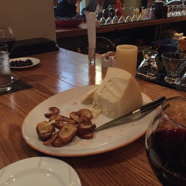 Photo taken at Kellari Taverna NY by Greg J. on 9/25/2014