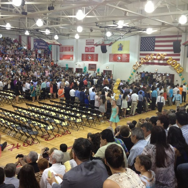 Photo taken at Cherry Hill High School East by Kenneth A. on 6/17/2013
