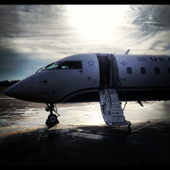 Photo taken at Westchester County Airport (HPN) by Tracy S. on 12/12/2012