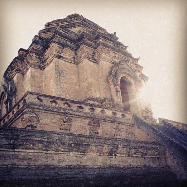 Photo taken at Wat Chedi Luang Varavihara by selfisk on 12/29/2012