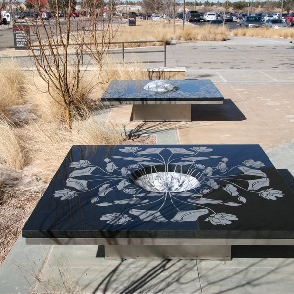 Symbiotic Benches by Jim Hirschfield and Sonia Ishii