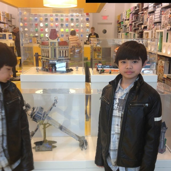 Photo taken at The LEGO Store by RJ A. on 3/26/2013