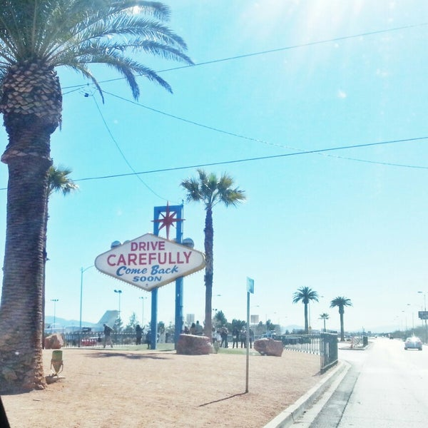 Photo taken at Welcome To Fabulous Las Vegas Sign by Brian S. on 2/13/2013