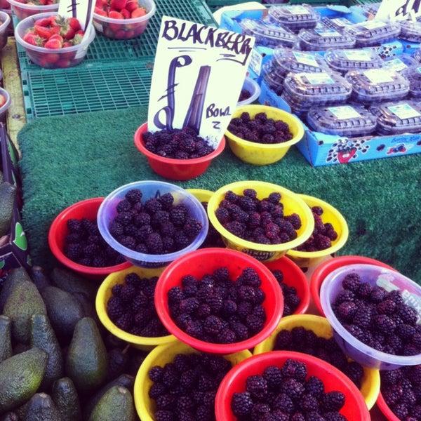 Photo taken at Ridley Road Market by Katja on 1/26/2013