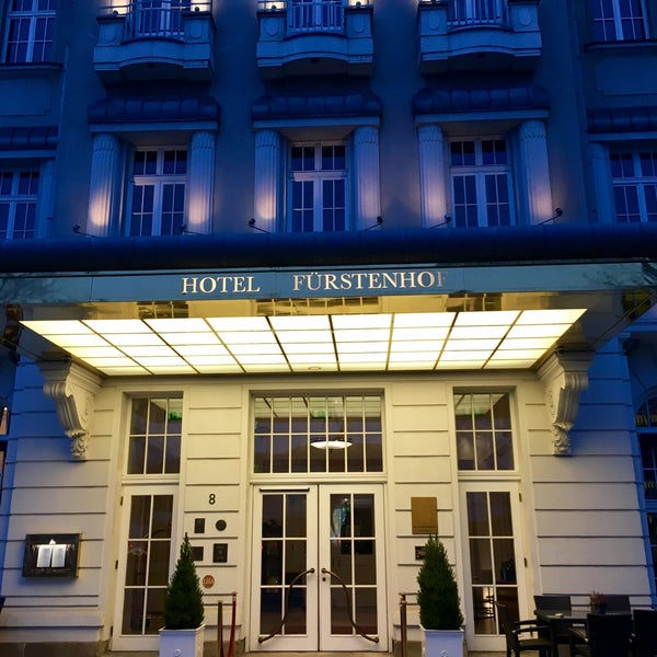 Das Foto wurde bei Hotel Fürstenhof von Nick W. am 11/25/2016 aufgenommen