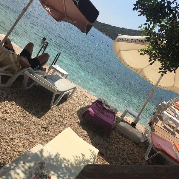 8/18/2017 tarihinde Serhat T.ziyaretçi tarafından Olympos Mocamp Beach Club'de çekilen fotoğraf
