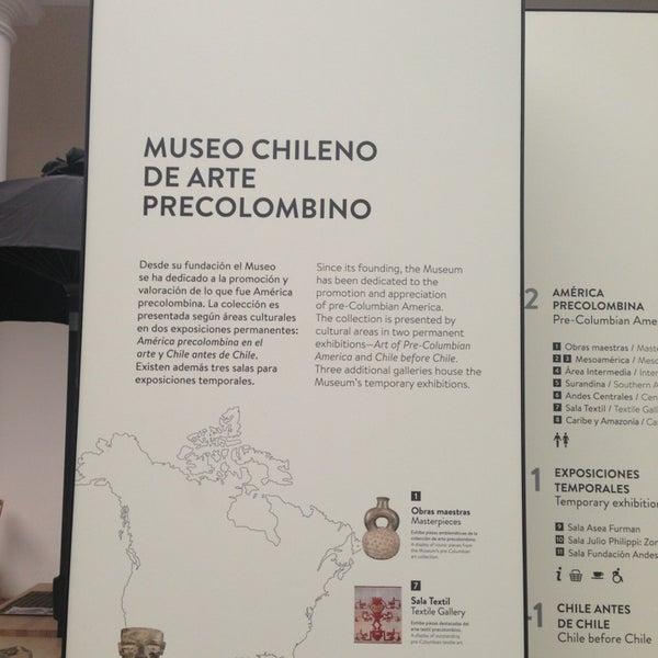 Foto tirada no(a) Museo Chileno de Arte Precolombino por Дмитрий С. em 5/10/2014
