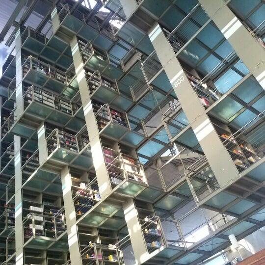 Photo taken at Biblioteca Vasconcelos by Guillermo G. on 10/6/2012