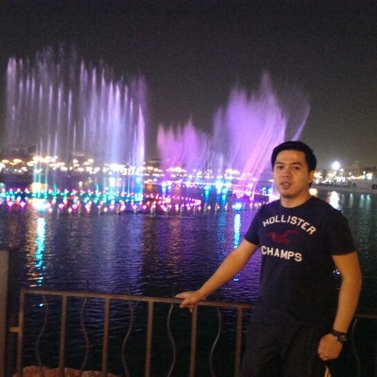 Photo taken at King Abdullah Park by Alkhy B. on 10/30/2013