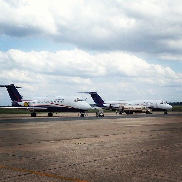 Photo taken at Shreveport Regional Airport (SHV) by Mark C. on 5/20/2013