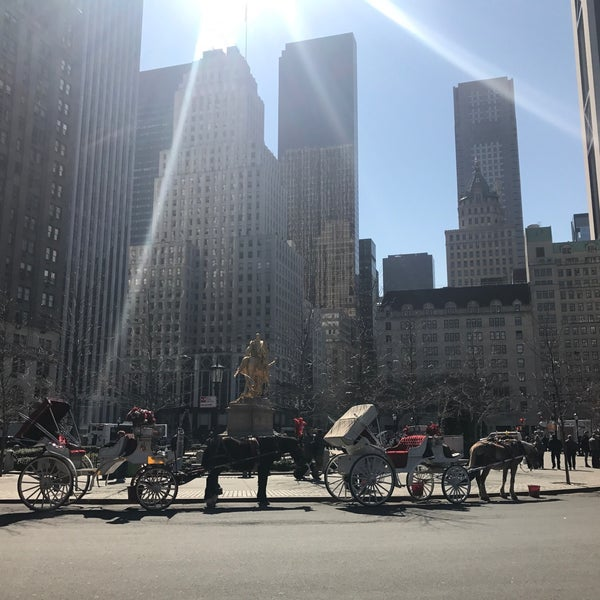 Photo taken at Grand Army Plaza by Chris on 3/6/2017