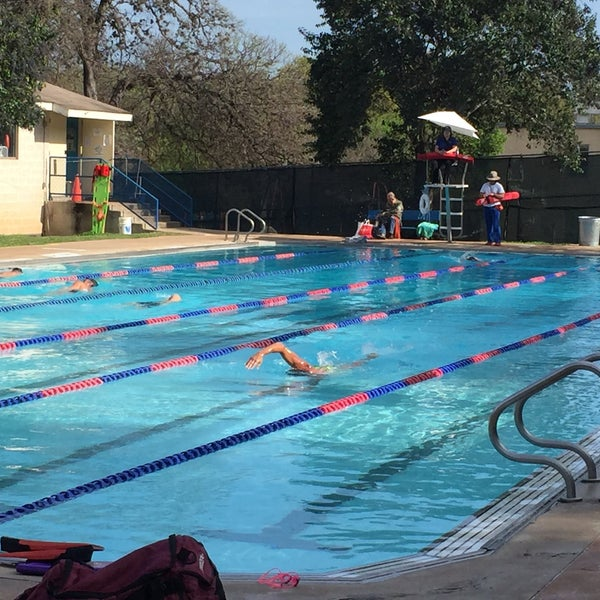 Photo taken at Big Stacy Pool by Pernilla L. on 3/10/2017