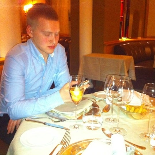 Photo taken at PanEVO Restaurant by Ilya on 12/31/2012