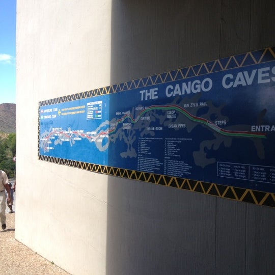 Photo taken at Cango caves by Melisa S. on 12/20/2012