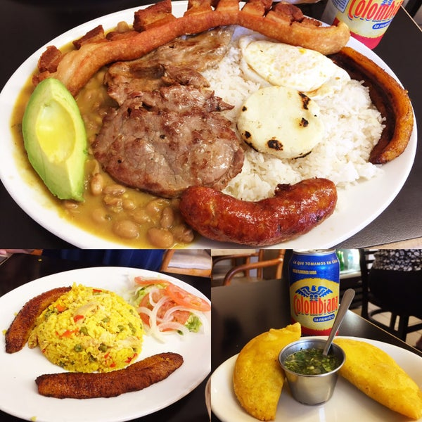 Antojitos colombianos restaurant south american for American cuisine san diego
